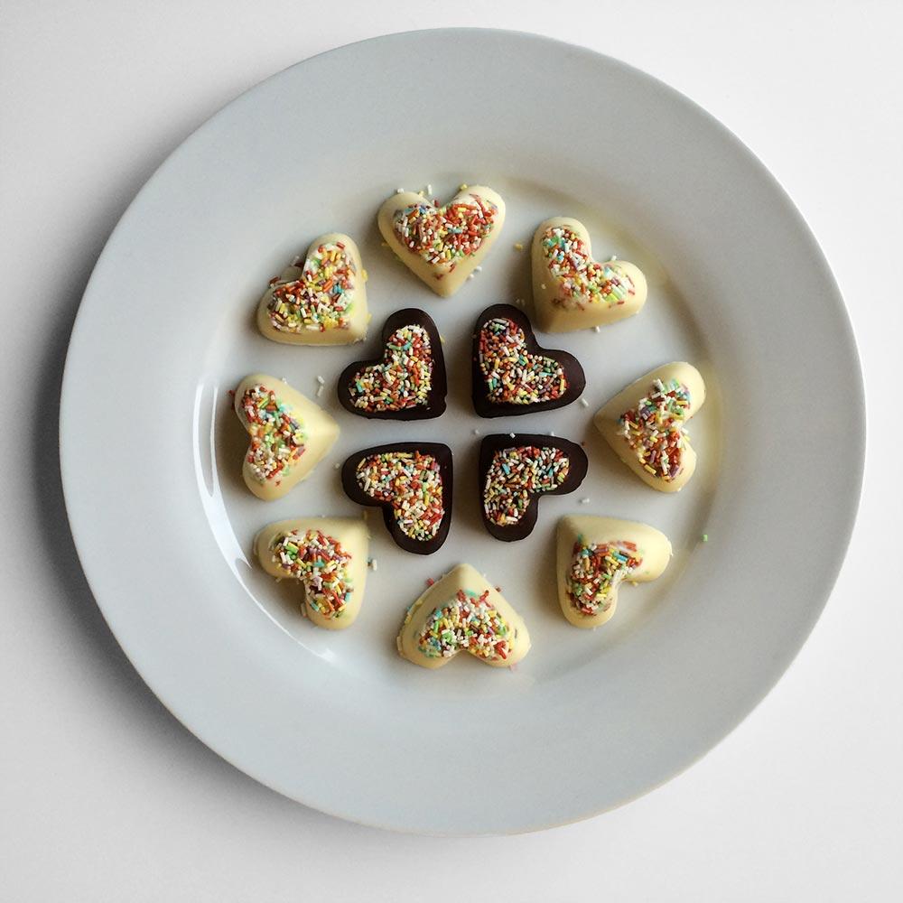 Čokoladni srčki 8