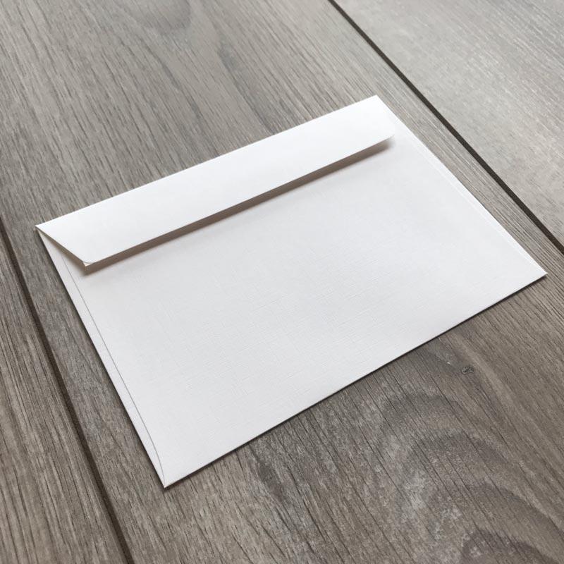 Kuverte za vabila - mat teksturirane - 16x11cm