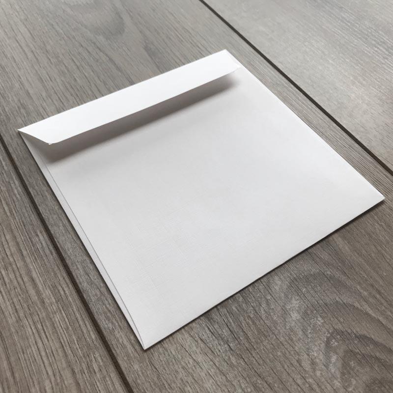 Kuverte za vabila - mat teksturirane - 16x16cm