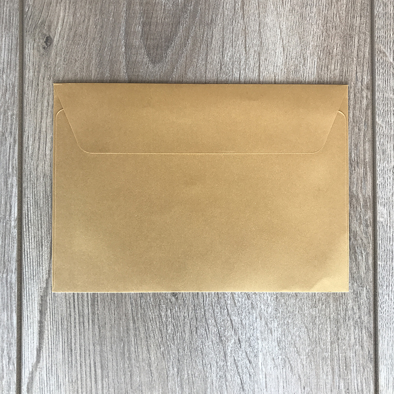 Kuverte za vabila – zlate – 16x11cm 2