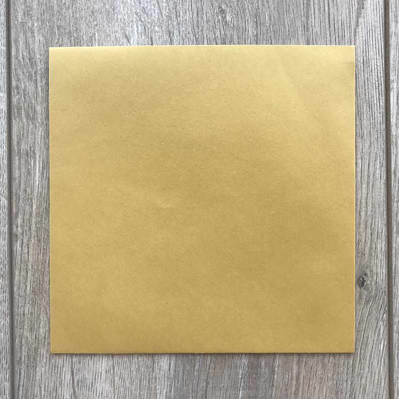 Kuverte za vabila – zlate – 16x16cm 2