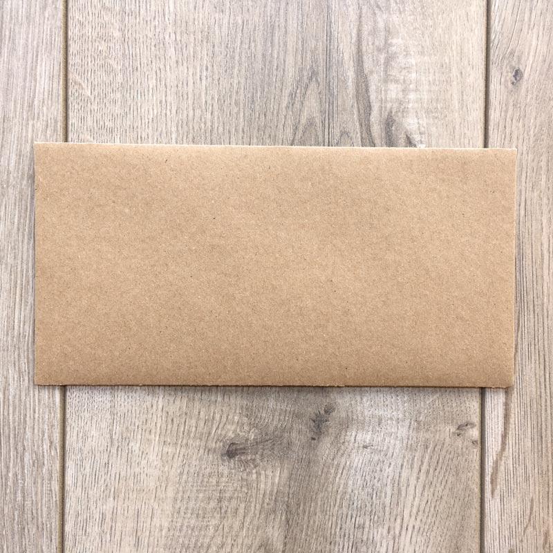 Kuverta za vabila – Eko spredaj