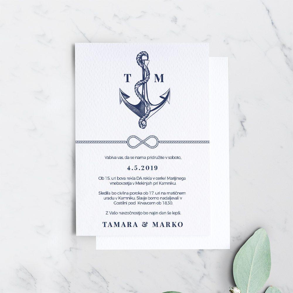 Poročno vabilo: Mornarsko 3