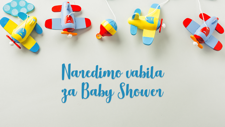 Naredimo vabila za Baby Shower