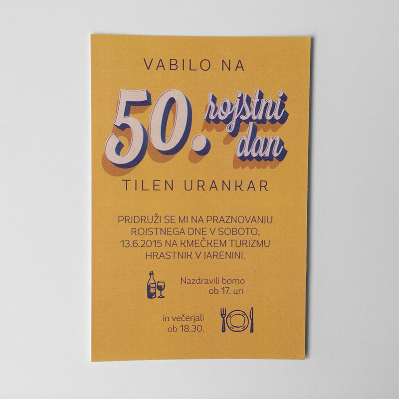Vabilo za 50. rojstni dan - 1 - 1.1